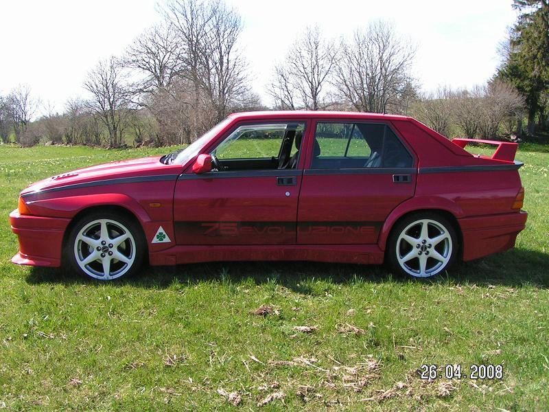 La FifouMobile !  (Alfa 75 turbo Evoluzione) Evo50