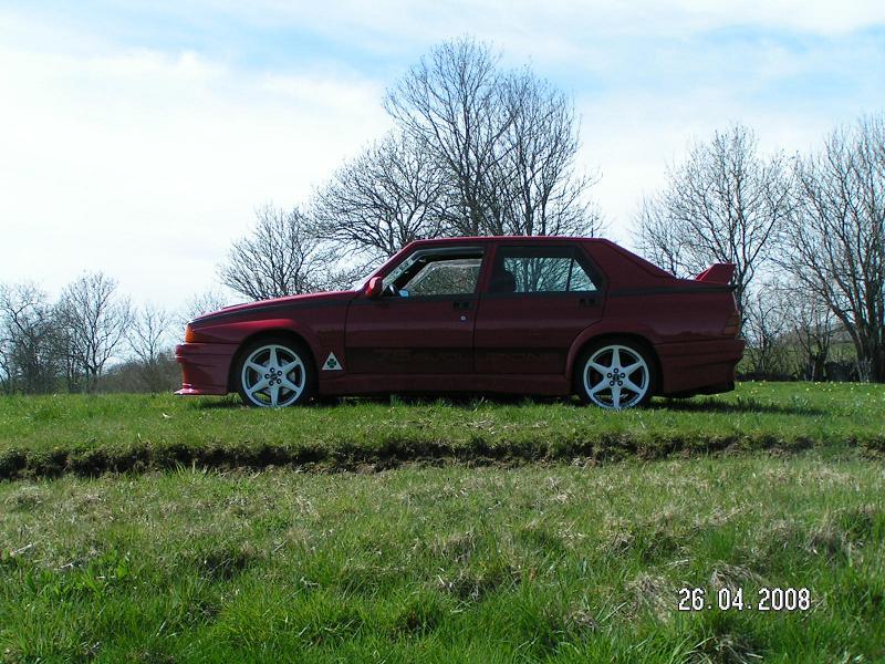 La FifouMobile !  (Alfa 75 turbo Evoluzione) Evo75