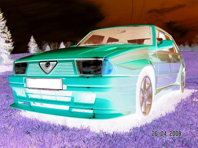 La FifouMobile !  (Alfa 75 turbo Evoluzione) Psy