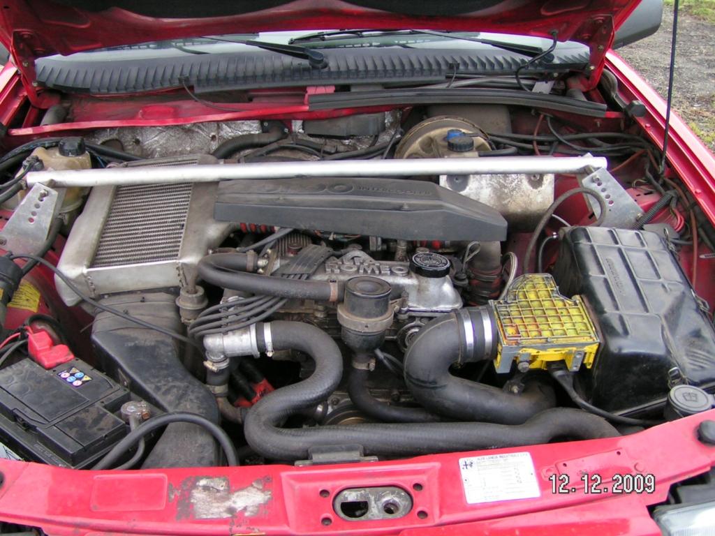La chariote du Diable : alfa 75 turbo America! Am17